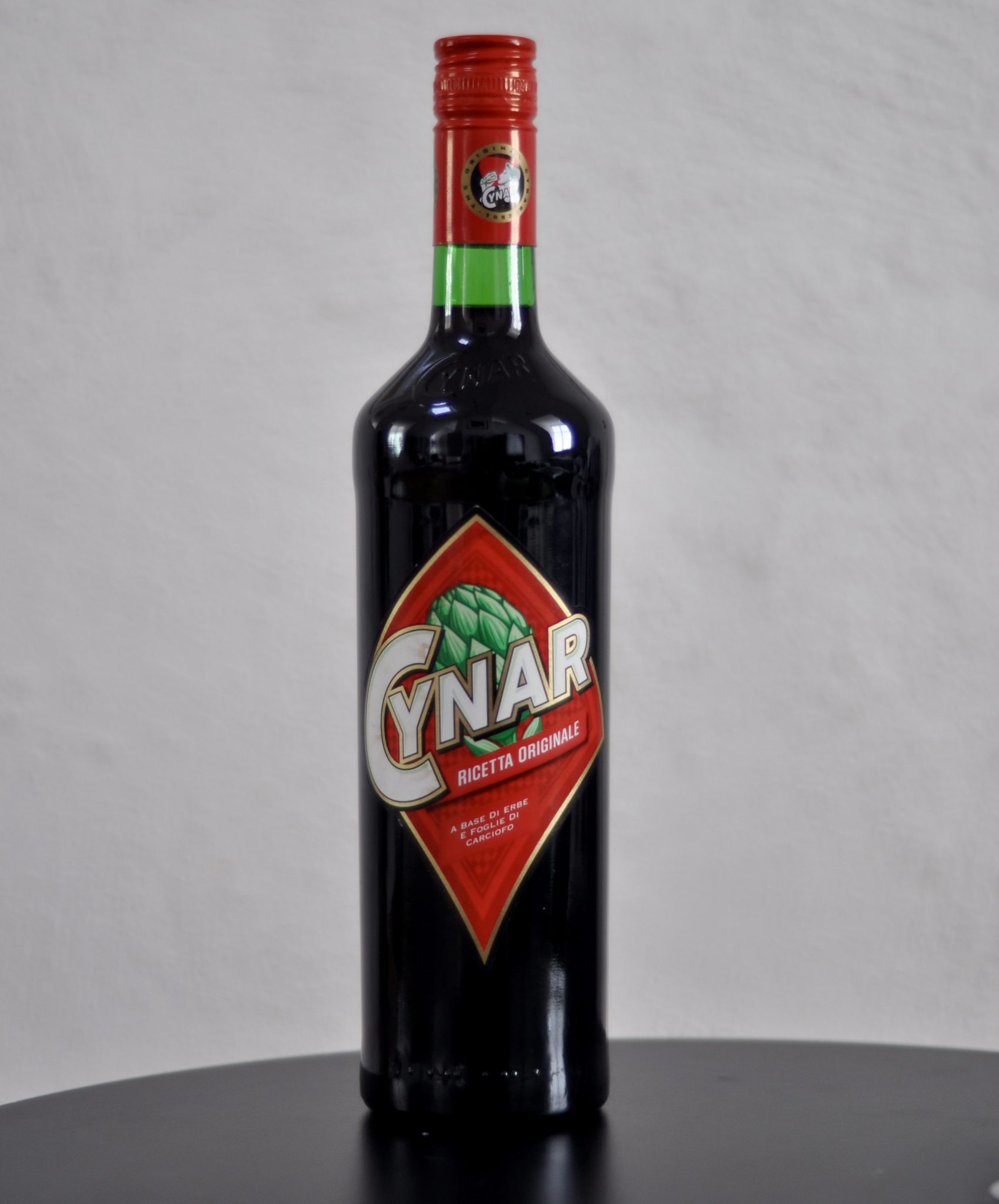 A bottle of Cynar
