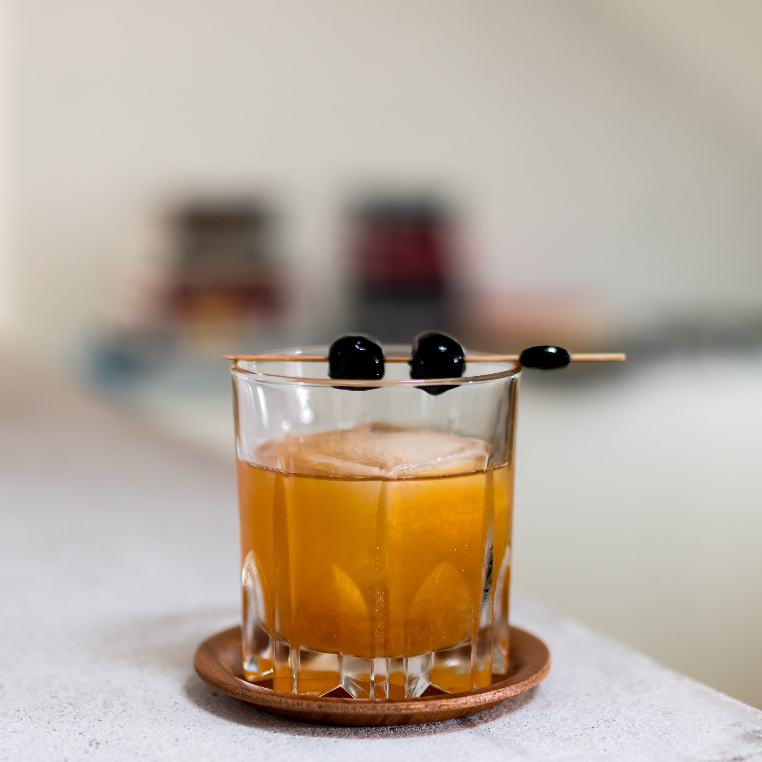 grapfruit old fashioned 8 400x284 Grapefruit Old Fashioned